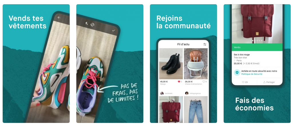 Vinted: app to dress durable